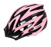 Meteor Kask rowerowy Meteor MV29 23972 rózsaszín kerékpáros sisak