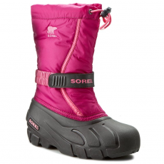 SOREL Hótaposó SOREL - Youth Flurry NY1885-684 Deep Blush/Tropic Pink