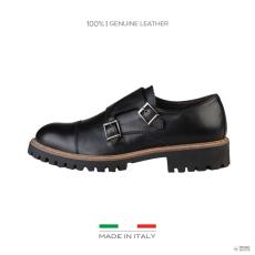 Made In Italia készült Italia férfi alkalami cipő VITTORIO_fekete