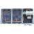 Comtec háromfázisu fogyasztásmérő szekrény 20A 300mA áramvédős kismegszakitóval és feszültség-határérték kioldóval