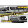 Eastern Express Airport service set #5 (apron buses) makett Eastern Express EE14604