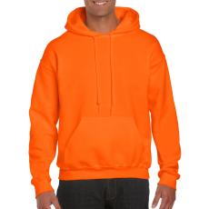 GILDAN kapucnis pulóver, safetyorange