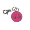 PetHead pink kerek fém medál