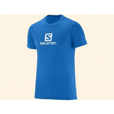 Salomon Póló LOGO SS COTTON TEE - 376850-LOGO Union Blue