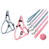 Karlie Sportiv Puppy set hám+póráz 25-45cm (ružový)