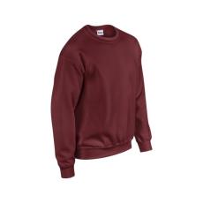 GILDAN kereknyakú pulóver, sötétbordó