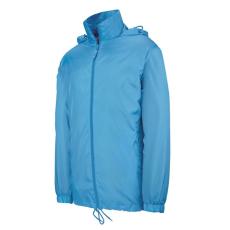 KARIBAN kapucnis széldzseki, tropical blue