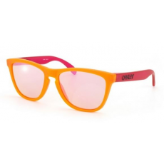 Oakley OO9013 24-284 FROGSKINS BLACKLIGHT ORANGE/PINK PINK IRIDIUM napszemüveg