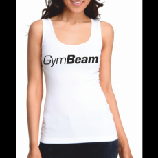 GymBeam Clothing Atléta Basic Tank Top White - GymBeam