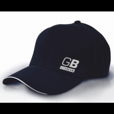 GymBeam Clothing Baseball sapka Simple Black - GymBeam