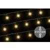 diLED világító lánc - 40 LED meleg fehér