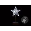 Karácsonyi dísz- csillag - 40 cm 10 LED