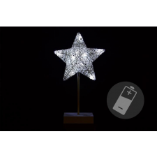 Karácsonyi dísz- csillag - 40 cm 10 LED karácsonyfa izzósor