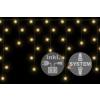 diLED fényeső - 80 LED meleg fehér + bekötés