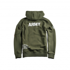 Alpha Industries Army Zip Hoody - sage green
