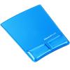 FELLOWES Egéralátét csuklótámasszal, FELLOWES Health-V Crystal, kék