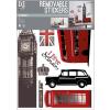 No-name Falimatrica -WALLPLC004- 50x70cm London <1ív/ csom>