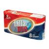 Lilla Toalettpapír újrahasznosított 2 rétegű 130 lap Lilla Duo 8tek/csom