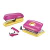 Rapid TűzőgépF5 + LyukasztóFC10 + kapocskiszedő szett-5000371-rózsaszín/sárg