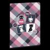 Ars Una Gumis mappa-90217623-A/4 Think-Pink <20db/csomag>