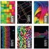 Interdruk Jegyzettömb perforált-vegyes mintákkal-A5+ 80 lap micro kockás <5db/ cs