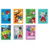 Interdruk Iskolai füzet-vegyes mintákkal- A5 16 lap Angry Birds Rio kockás<20db>