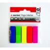 A-Series Oldaljelölő cimke műanyag nyíl alakú 12x50mm <5x25címke/csom >a-series