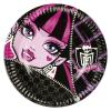 No-name Party Tányér - 18 cm Monster High<8db/ csom>
