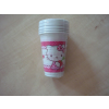 No-name Party pohár 0,2 dl 8db/csomHello Kitty Hearts
