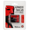 "Kingston Memóriakártya, Compact Flash, 16GB, KINGSTON ""Ultimate 266x"""