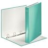 Leitz Gyűrűskönyv -42420051- lakkf.40mm gerinc 4gyűrűs metál jégkék Leitz