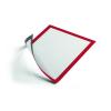 DURABLE Információs tábla -4869/03- mágneses A4 Piros DURAFRAME <5db/csom>