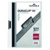 DURABLE Klippmappa -2209/02- 60 lapig fehér DURACLIP <25db/csomag> DURABLE
