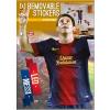 No-name Falimatrica -STCKICO040- A3 Lionel Messi <2ív/ csom>
