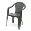 Báthory Háztartási és Műanyagáru KORA karfás szék barna  színben