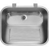 Deante Komora rozsdamentes mosogató egy medencés