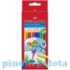 Triangular színes ceruza 12db-os szett Faber-Castell