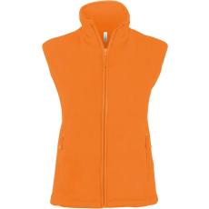KARIBAN női mikropolár mellény, orange