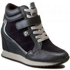 Tommy Hilfiger Sportcipő TOMMY HILFIGER - Running Wedge 1C2 FW56822075 Midnight 403