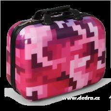 DEDRA Kézipoggyász kicsi Pink tetris  (Kézipoggyász kicsi Pink tetris )