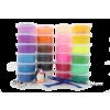 DEDRA MUFI gyurma 24 színű (MUFI gyurma 24 színű)