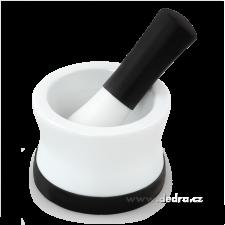 DEDRA Porcelán mozsár - fekete konyhai eszköz