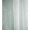 Fehér sable kész vitrage függöny, hímzett leveles/0016/Cikksz:01310517