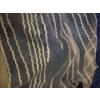 Fehér hosszában mintás organza függöny maradék 58x380+90x280cm/015/Cikksz:1240276