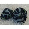 Pamutjersey gombolyag fekete zöld szürke/Cikksz:125012