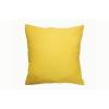 Egyszímű sárga pamutvászon díszpárna/Cikkszám:03210168