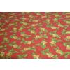 Karácsonyi mintás karton maradék, piros 40x140cm/015/Cikksz:1231517