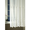 Fehér hímzett voila függöny méterben, HR/0016/Cikksz:01140343