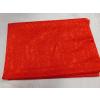 Piros egyszínű pamutjersey maradék fényes, 65x170cm/0016/Cikksz:125010