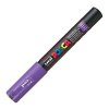 Dekormarker UNI POSCA PC-1M 0.7-1 mm, kúpos, LILA